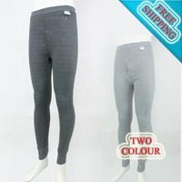 2013 Hot Sale Men's Sexy smooth Thermal Underwear Long Pants legging(2 colors for choice / Fabric:cotton and modal)Free shipping