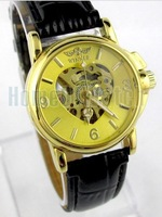 Ebay hot-selling , winner fashion , heart , strap women's mechanical watch
