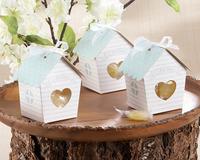 Love Nest Bird House Favor Box   20PCS/LOT baby shower candy box cupcake  cake box