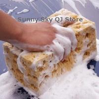 Big Holes Car Cleaning Honeycomb Sponge,Thick Coral Wash Sponge~
