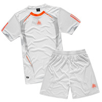Paintless soccer jersey short-sleeve jersey football training suit set jersey