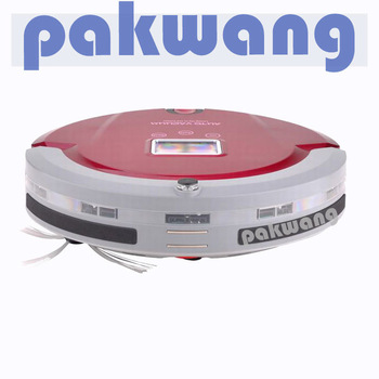 Free Shipping Anti-fall probe multifunction robotic auto vacuum cleaner 4 IN 1