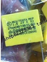 Free shipping 10pcs X2 Polyproplene safety capacitor 1.5uF/275VAC K 1.5uf 155 275V AC