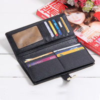 Genuine leather women's long design wallet fashion classic crocodile pattern purse female wallet