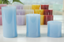 pillar candle promotion