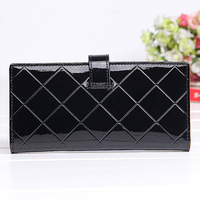 Promotion Free dropshipping Designer New Brand korean organizer Wallets for Women High quality leather long wallet