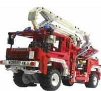 Decool Fire Engine Exploiter series Building Block 1036pcs Educational Jigsaw Enlighten DIY toys for children 3323 Free shipping
