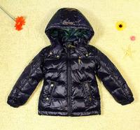 Child medium-long thickening Westphal child down coat down coat down coat 1178