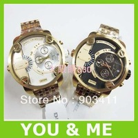 HK post Free shipping men's quartz  DZ7273 stainless steel strap Wristwatches +logo+original box