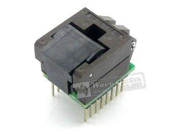 SO16 SOIC16 SOP16 TO DIP16 (B) Enplas IC Programming Adapter Test Burn-in Socket 1.27mm Pitch