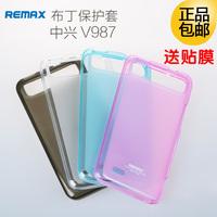 Remax  for zte   v987 phone case  for zte   v987 v967s mobile phone case protective case protective case film