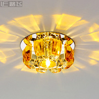 Led crystal ceiling light entrance lights corridor lights ceiling