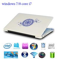 14'' i7 laptop windows7/8 4GB 500GB HDD 3300mAH intel i3/i5/i7 ultrabook netbook with free shipping