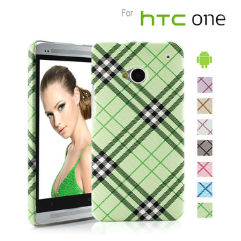 2013 Brand Hard Case for HTC One M7 Cover Cell Phone Cases Green Available