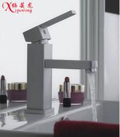 Space aluminum bathroom hot and cold wash basin faucet basin faucet basin