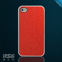 For iphone  4 s phone case i4 vintage relief new arrival  for apple   4 mobile phone case film