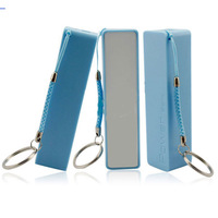 2600mAh Mini Mobile Portable External Pocket Battery Power Bank for Mobile phone (Blue)