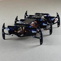 6 foot robot Black spider robots full set of steering gear mount rack only frame