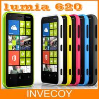 Lumia 620 Original Nokia Lumia 620 unlocked mobile phone dual core 5MP WIFI 3.8 Inch GPS Windows OS 8GB ROM 512 RAM freeship