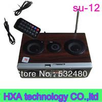 Mp3 Mini Speaker Products SU-12 Mini Sound box MP3 player Mobile Speaker SD/USB/FM-SU12