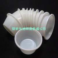 Free shipping, Sauce cup disposable 2oz sauce box jelly pudding  plastic bowl pp cup lid 100 pieces/lot