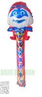 100 pcs/Lot ,Free shipping Cartoon Clapper stick Balloon,clap balloons,cheering stick