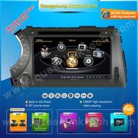 3G,S100 7'' Ssangyong Actyon/Kyron Car DVD Player,AutoRadio,GPS,Multimedia,Radio,Ipod,DVR,Free camera+Free shipping+Free map