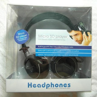 Wholesale Bulk Price Rechargeable Computer Head Phones with Microphone, Wireless Portable TF Read FM Headphones Headset,Black