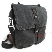 Badinaging bag eight reminisced water wash canvas bag male casual shoulder bag backpack