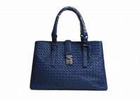 Intrecciato Roma Shoulder Bag Top Stitched Tote Bag Designer Handbag 5065 7453
