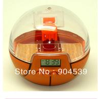 Free shipping Sport times basketball Alarm Clock Golf Alarm Clock,  twist table clock, novelty clock, Green and orange colors