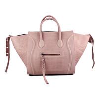 Luggage Phantom Tote Bag Leather Handbag in Croco Printed Leather C-198 88033