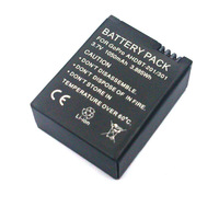 1 x 1050mah  AHDBT 301/201 Replacement Battery Bateria  Batterie  For GoPro HD Hero 3 Camera Camcorder