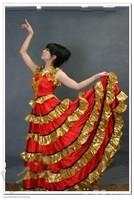 Performance wear dance clothes dance female expansion skirt photography services dance clothes