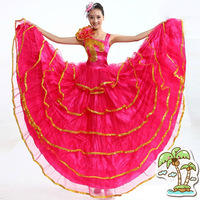 Expansion skirt expansion skirt costume stage clothes dance clothes