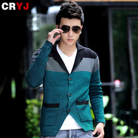 Men's clothing 2013 male sweater slim cardigan sweater cardigan