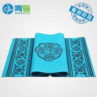 Bluephoenix yoga mat broadened thickening fitness yoga mat slip-resistant blanket