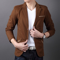 Free shipping Cow 2013 autumn male casual suit men's clothing suit outerwear blazer male