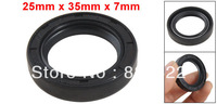 25mm x 35mm x 7mm Garter Spring TC Engine Double Lip Oil Shaft Seal