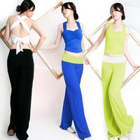 Yoga clothes set sexy yoga clothing sleeveless yujia