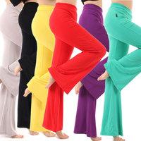 Yoga trousers yoga pants dance pants hypertensiveperson pants female slim large modal boot cut