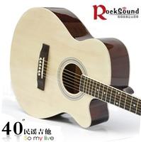 Hot-selling 40 folk guitar 198 guitar wood guitar