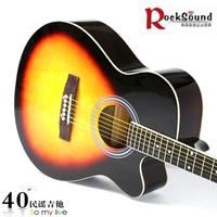 New arrival ra10c 40 folk guitar 238 spree