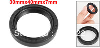 Spring Loaded Metric Rotary Shaft TC Oil Seal Double Lip 30x40x7mm