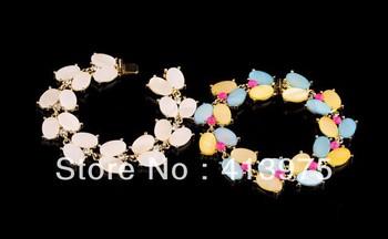 Free Shipping  / Fashion Jewelry/ BUNGALOW BOUQUET HINGE BANGLE