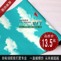 Pvc wallpaper decoration wallpaper child real fly