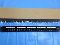 100 core voice patch panel 25 telephone patch panel voice rj11 distribution frame