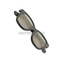 H3#R Circular Polarized Passive 3D Glasses Black Movie DVD LCD Video Game Theatre