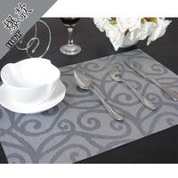 Pat Mat Heat Insulation Pvc placemat dining table mat heat insulation pad free shipping