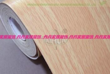 Wreath wood grain pvc waterproof wallpaper wardrobe cabinet door furniture free shipping